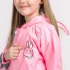 Дождевик детский розовый