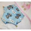 Подгузники для бассейна с высокой талией голубые мишки