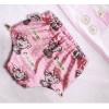 Подгузники для бассейна с высокой талией розовые мишки