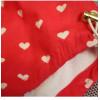Подгузники для бассейна с высокой талией красные сердечки