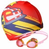 Детские очки шапочка для бассейна чемпион