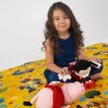 Детский термоковрик для ползания складной мики маус