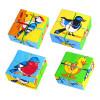 Кубики птицы
