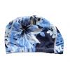 шапка для плавания детская тканевая цвет