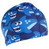 шапка для бассейна тканевая акулы