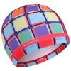 детская шапка для бассейна мозайка