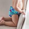 Подгузники для бассейна голубые бантики