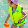 Жилет для плавания желто зеленый