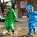 Детские дождевики