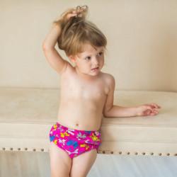 Подгузники для бассейна  бантики
