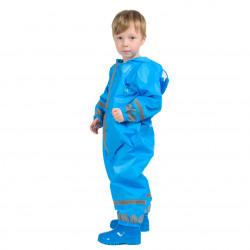 Дождевик детский синий