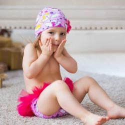 Подгузники для бассейна пачка розовая