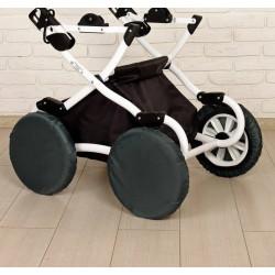 Чехлы для колес детской коляски диаметр 32 см