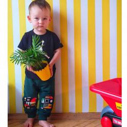 Наколенники штаны джоггеры зеленые