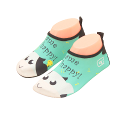 Обувь для бассейна пляжа зеленые аквашузы