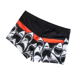 Плавки шорты для плавания акула