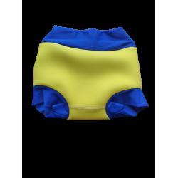 Акваподгузники для плавания  желтые