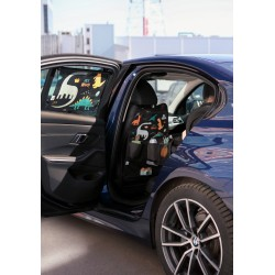 Солнцезащитная шторка в автомобиль Leokid 50 на 50
