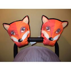 Варежки для коляски лиса