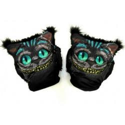 Муфты варежки для коляски чеширский кот
