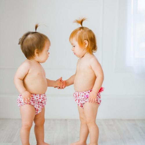Подгузники для бассейна для крупных деток малинки