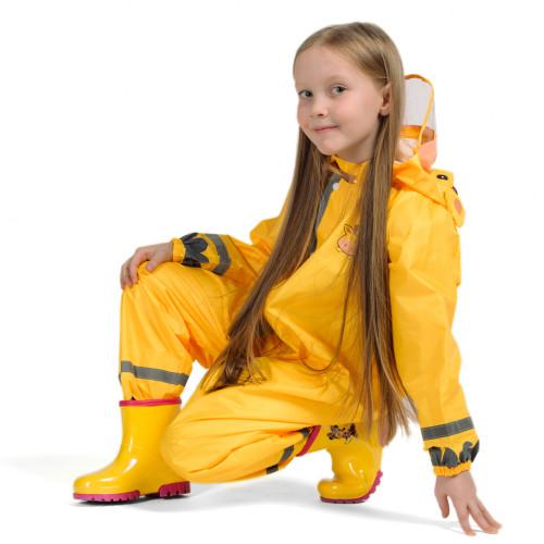 Дождевик детский жёлтый