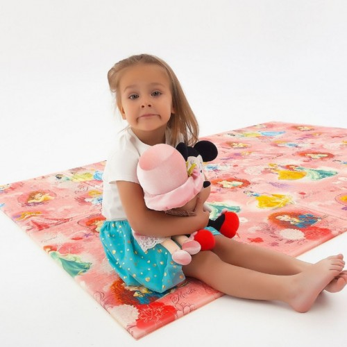 детский термоковрик складной принцессы
