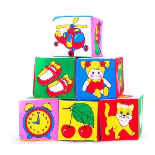 Кубики предметы