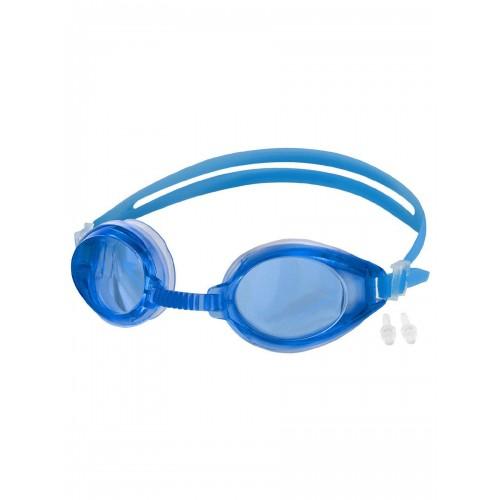 очки для плавания синие
