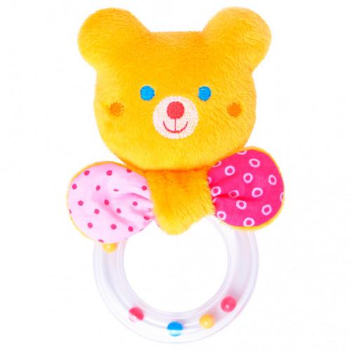 Погремушка мишка c кольцом